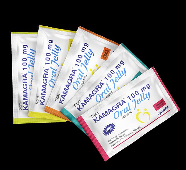 Kamagra Oral Jelly bustine 100 mg